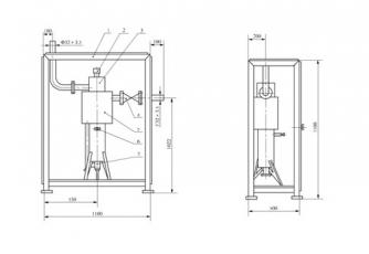 C2H2V/N型内外筒式乙炔回火防止器